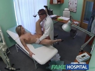 FakeHospital Stunning blonde wants contaminate to prescribe his weasel words fetish amateur