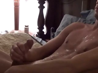 Hot Guy Jerking His Nice Horseshit solo male asian